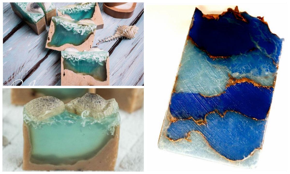 Идеи для мыловаров: морское мыло