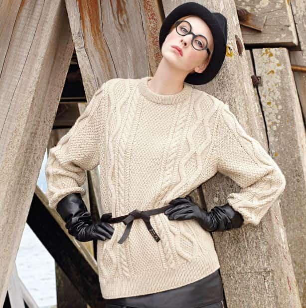 Вязанные свитера женские спицами фото и схемы 2017