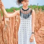 Платье для жарких дней