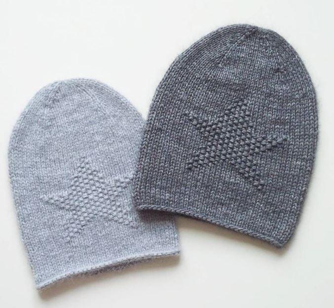 Как связать шапку Бини спицами — урок для начинающих