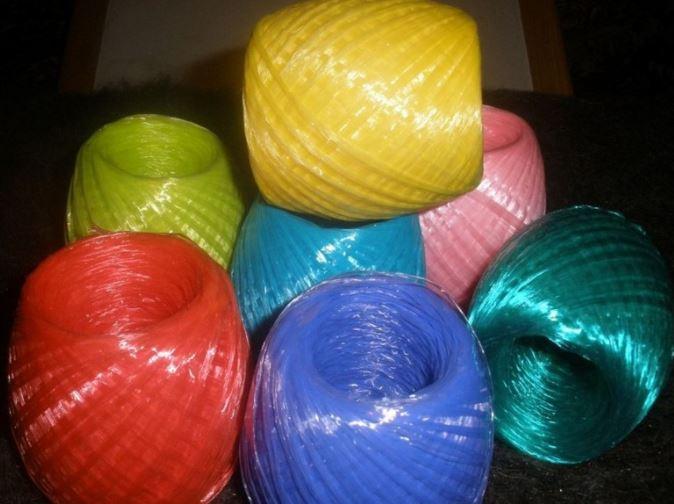 пряжа для вязания мочалки