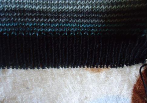 свитер реглан без швов спицами