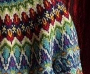 Схемы вязания жаккардовых узоров спицами