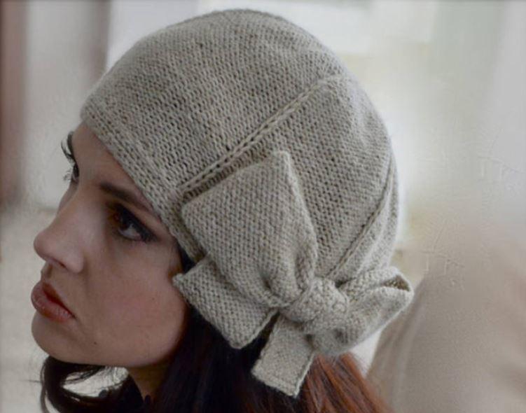 схемы зимних женских шапок