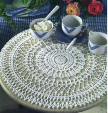 схемы вязания красивых салфеток крючком
