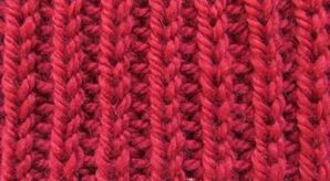 вязание спицами жеичужная резинка схема и описание
