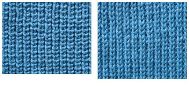 жемчужная резинка спицами схема вязания по кругу