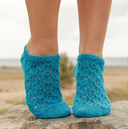 вязание спицами носки следки