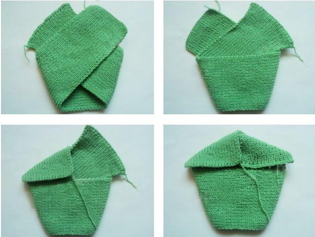шапка чалма спицами для женщин схемы с описанием вязания