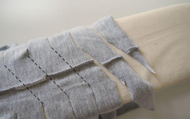 как сделать пряжу из футболки