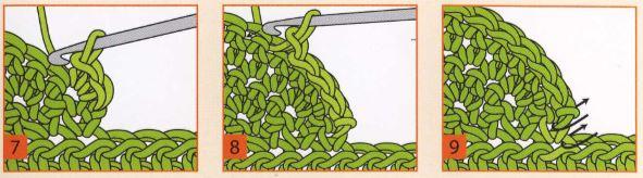 как вязать следки