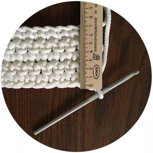 плотность вязания крючком