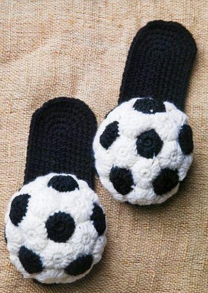 вязание тапочек крючком для детей