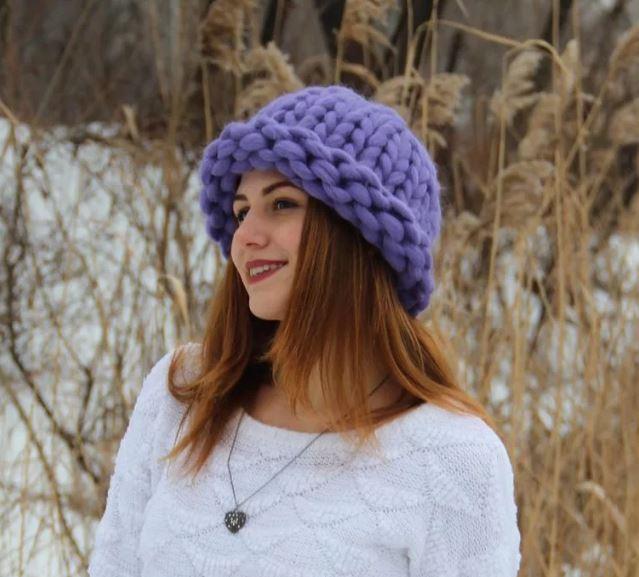 шапка спицами схемы и описание вязания для женщин